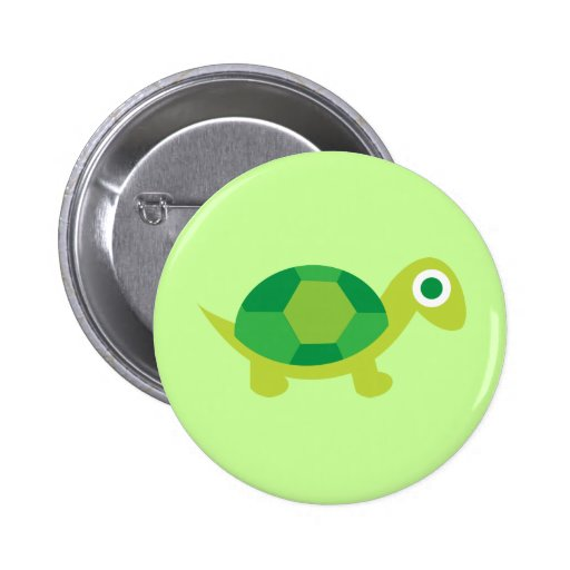 Lil Turtle Guy Buttons