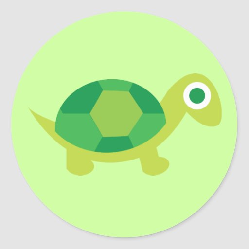 Lil Turtle Guy Sticker