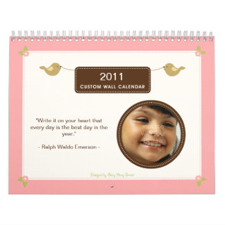 Lil' Tweeters 2011 Photo Calendar
