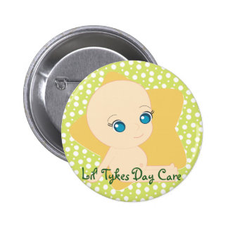 Lil' Tykes Day Care 2 Inch Round Button
