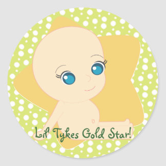 Lil' Tykes Day Care Classic Round Sticker