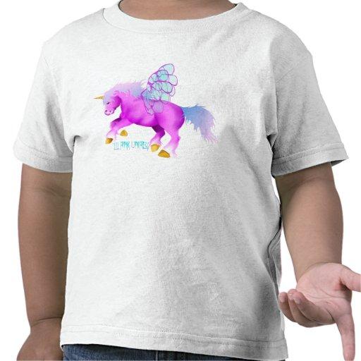 * ' Lil Unipeg rosado Camisetas
