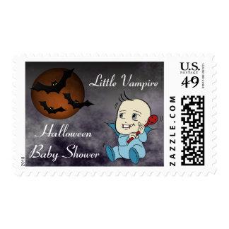 Lil Vampire Baby Shower Postal Stamps