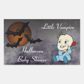 Lil Vampire Baby Shower Stickers