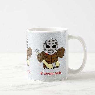 Lil' Vintage Hockey Goalie Coffee Mug Tea Cup