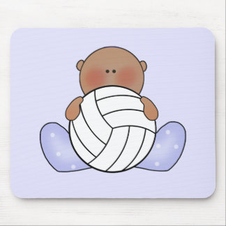 Lil Volleyball Baby Boy - Ethnic Mouse Pad