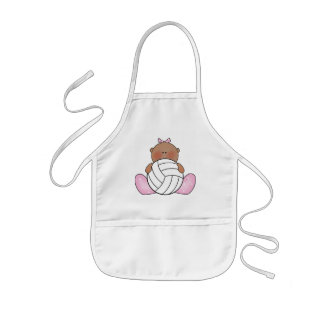 Lil Volleyball Girl - Ethnic Kids' Apron