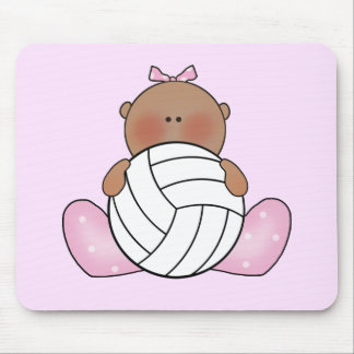 Lil Volleyball Girl - Ethnic Mousepad