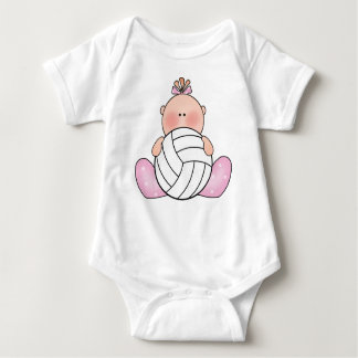 Lil Volleyball Girl T Shirt