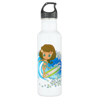 Lil' Wahine Stainless Steel Water Bottle