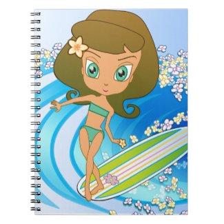 Lil' Wahine Wave Writer fuji_notebook