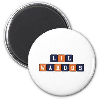 Lil Wahoos 2 Inch Round Magnet