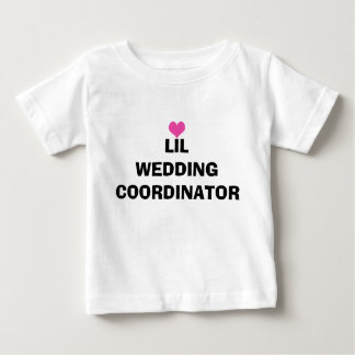 Lil Wedding Coordinator Toddler T-shirt