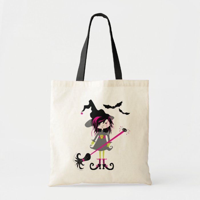 Lil' Witch Halloween Trick or Treat Bag