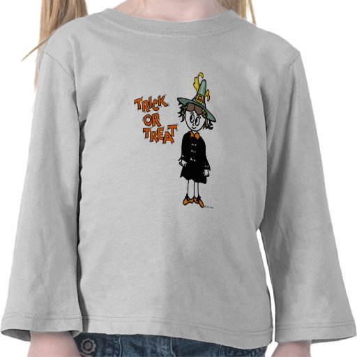 Lil Witch Trick-or-Treat T Shirts
