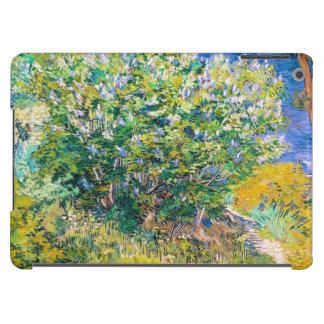 Lila Bush pintando de Vincent van Gogh Funda Para iPad Air