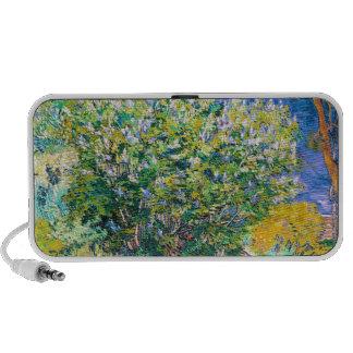Lila Bush pintando de Vincent van Gogh Portátil Altavoces