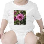 Lila coloreada subió traje de bebé