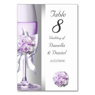Lila de la púrpura de la lavanda del número de la