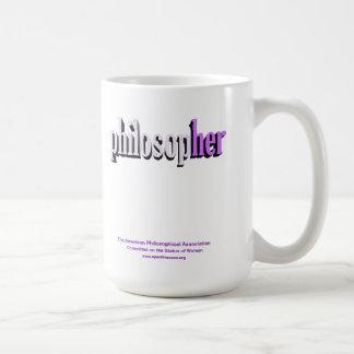 lila de la taza del filósofo