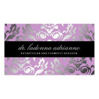 Lila del damasco de 311 Ladonna Tarjetas De Visita
