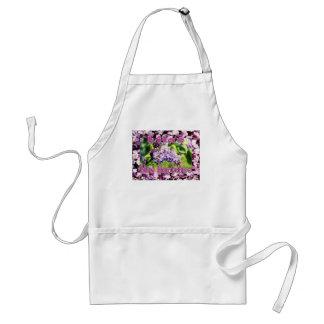 Lila - la flor de estado del NH Delantal