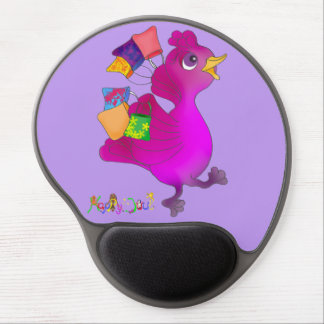 Lila loves Shopping by The Happy Juul Company Gel Mouse Pad
