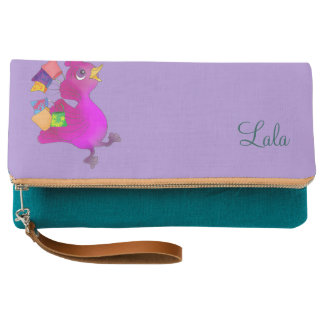 Lila loves Snowboarding by The Happy Juul Company Clutch