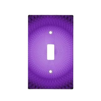 Lila Plafond Placa Para Interruptor