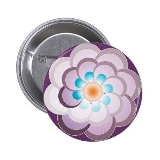 Lila real del Pavo. Botón Pin