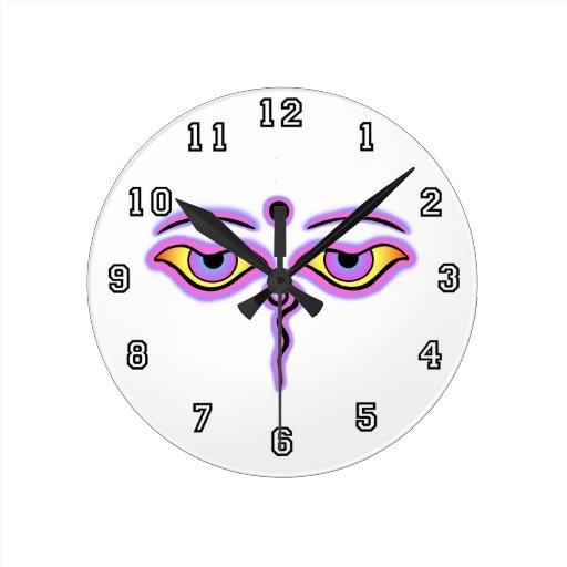 Lila rosada Buda Eyes.png Reloj