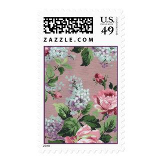Lila y rosas - franqueo