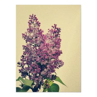 Lilac 6.5x8.75 Paper Invitation Card