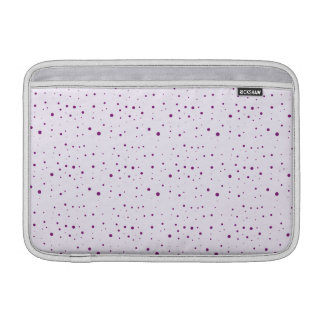 Lilac and Purple Spotty 11 Inch MacBook Air Sleeve