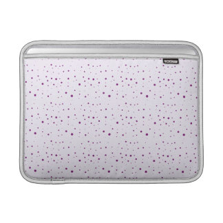 Lilac and Purple Spotty 13 Inch MacBook Air Sleeve