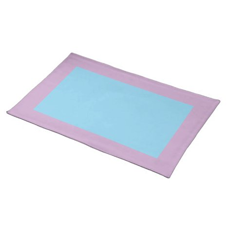 Lilac and Sky Blue Placemat