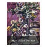 Lilac And Tulips By Corinth Lovis (Best Quality) Flyers