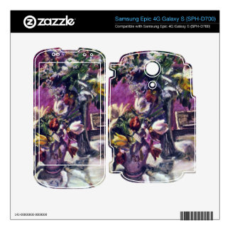 Lilac and tulips by Lovis Corinth Samsung Epic Skin