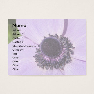 Lilac Anemone Business Card