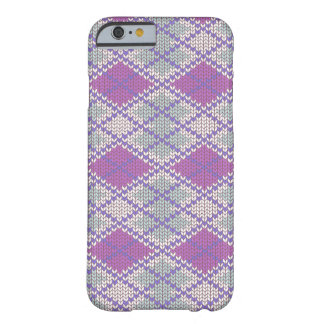 Lilac Argyle Knit iPhone 6 Case