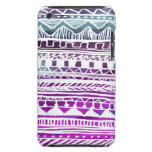 Lilac Aztec Pattern iPod Touch Cases