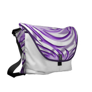 Lilac Ball Courier Bag