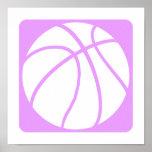Lilac basketball poster