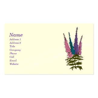 Lilac Biz Cards Double-Sided Standard Business Cards (Pack Of 100)