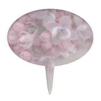 Lilac Blossom Cake Topper