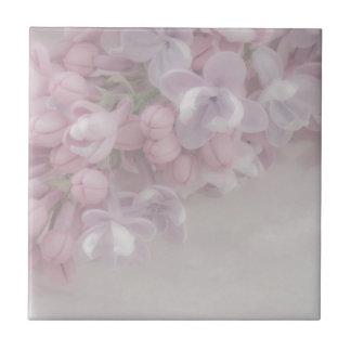 Lilac Blossom Small Square Tile