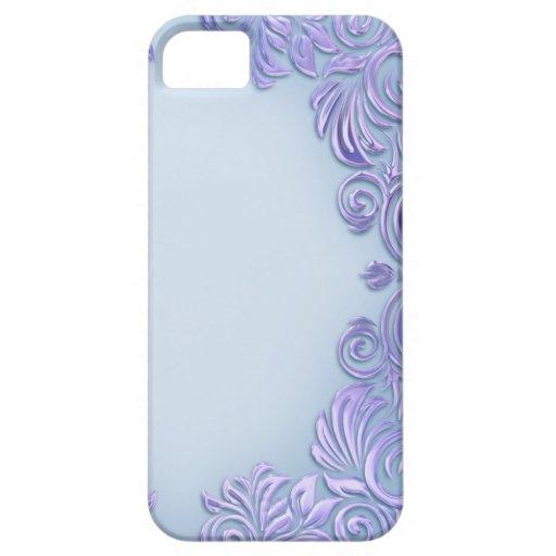 Lilac-Blue Foil I - Phone Case iPhone 5 Case