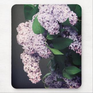 Lilac Bouquet with Vignette Mouse Pad