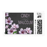 Lilac Branches Springtime Watercolor chalkboard Postage Stamp