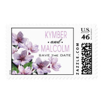 Lilac Branches Springtime Watercolor Flowers Postage